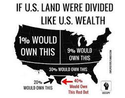 MAP OF USA WEALTH OWNERSHIP